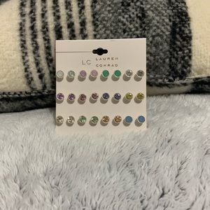 Pack of Lauren Conrad earrings - new never worn
